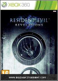 Capa Baixar Resident Evil: Revelations   Xbox 360   2013   Torrent Baixaki Download