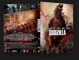 Godzilla (2014) DVD Cover